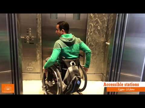 Wheelchair User Day In Seattle, USA