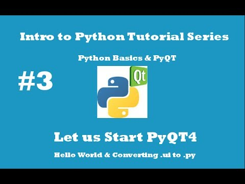 how to create ui with python