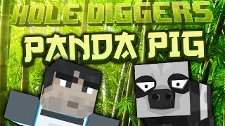 Minecraft - Panda Pig - Hole Diggers 25