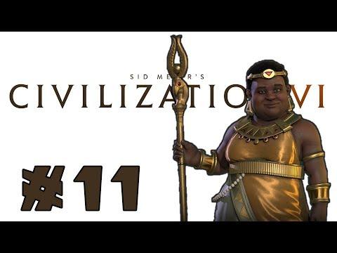 Let's Play: Civilization 6 - Nubia - Deity! - Part 11
