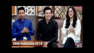Salam Zindagi With Faysal Qureshi - Umair Laghari & Najia Baig - 26th February 2018