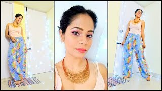 GRWM: Summer Outfit| Pink glowy Make up inspired by Sonam Kapoor's look from Veere Di Wedding