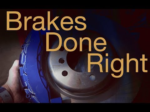 HOW TO: Change your own Disc Brake rotors and pads at home IN DEPTH
