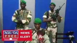 Coup Attempt in Gabon - LIVE BREAKING NEWS COVERAGE