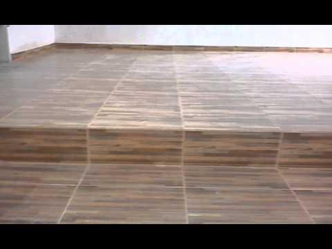 Piso terminado sala comedor youtube for Modelos de ceramica para pisos de sala