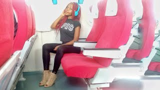 UPGRADED FROM ECONOMY TO FIRST CLASS ON SGR KENYA!!!/Miss Trudy