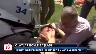 Gezi Parkı Olayları Başlangıcı