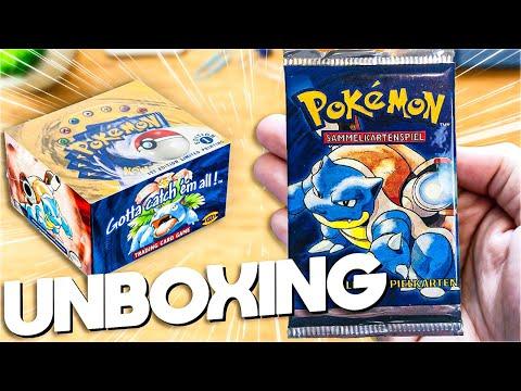 Pokemon 1st Edition Base Set Unboxing #1 - WIRD ES DAS GLURAK? 10 Turtok Packs!