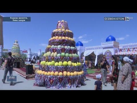 Хивада «Қовун фестивали» бошланди