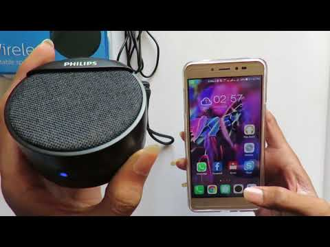 Philips BT40BK Wireless Portable Speaker #Unboxing  #Review