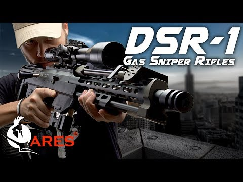 Rolls Royce of Airsoft Sniper Rifles - Ares DSR-1 Gas Sniper - RedWolf Airsoft RWTV