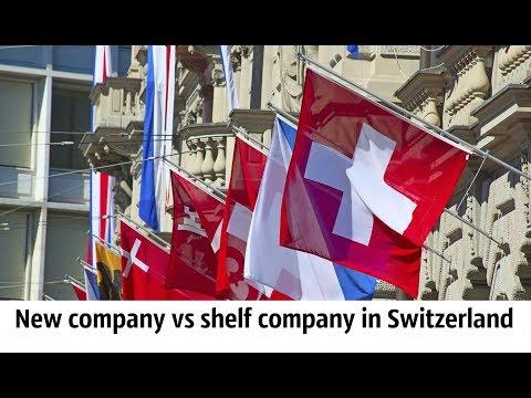 New company vs shelf company in Switzerland