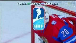 Straffläggning Sverige-Ryssland Junior-VM 2011-01-04