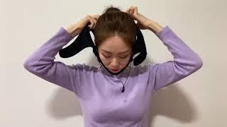 얼굴뷰티마사지기   사용방법 동영상