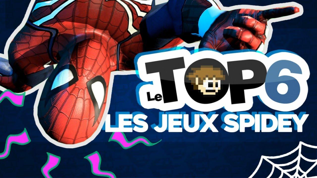 LES JEUX SPIDER-MAN - TOP 6 de PuNkY