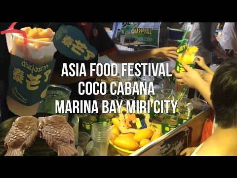 Street Food in Asia Food Festival, Marina Bay's Coco Cabana Miri City