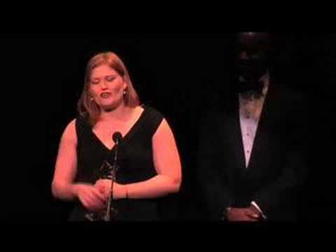 Anne Corbett at Helen Hayes Awards