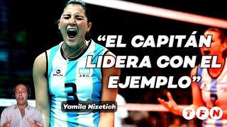Yas Nizetich, la gran CAPITANA de la Selección argentina de VOLEY - Deportes #TFN