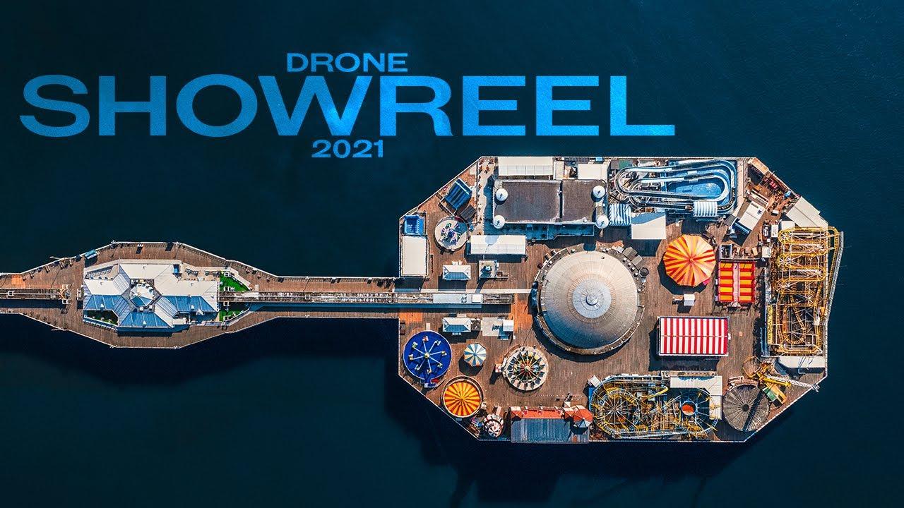 Cinematic Drone Showreel 2021