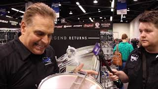 NAMM 2018   New & Improved Rogers Snare Drums and Dynasonic for 2018