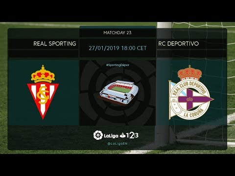 Real Sporting - RC Deportivo MD23