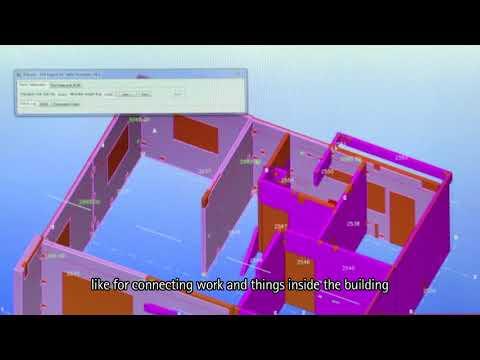 Видео Comparativo de método convencional com bim