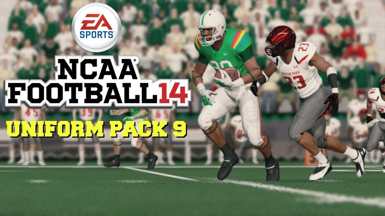 Ncaa Football 14 Uniform Pack 9 Available Now Youtube