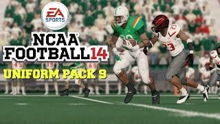 NCAA Football 14: Uniform Pack 9 Available Now!