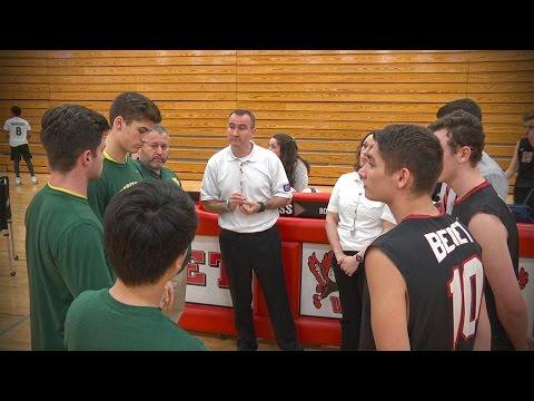 Waubonsie Valley vs. Benet Academy, Boys Volleyball // 04.19.17