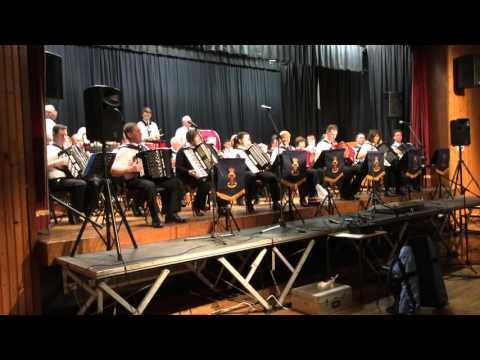 Milltown Accordion Band @ Gospel Concert 2016 (2)