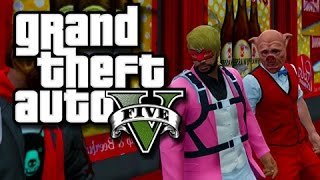 GTA 5 Unprepared Criminals!  (GTA 5 Funny Skits with The Crew!)