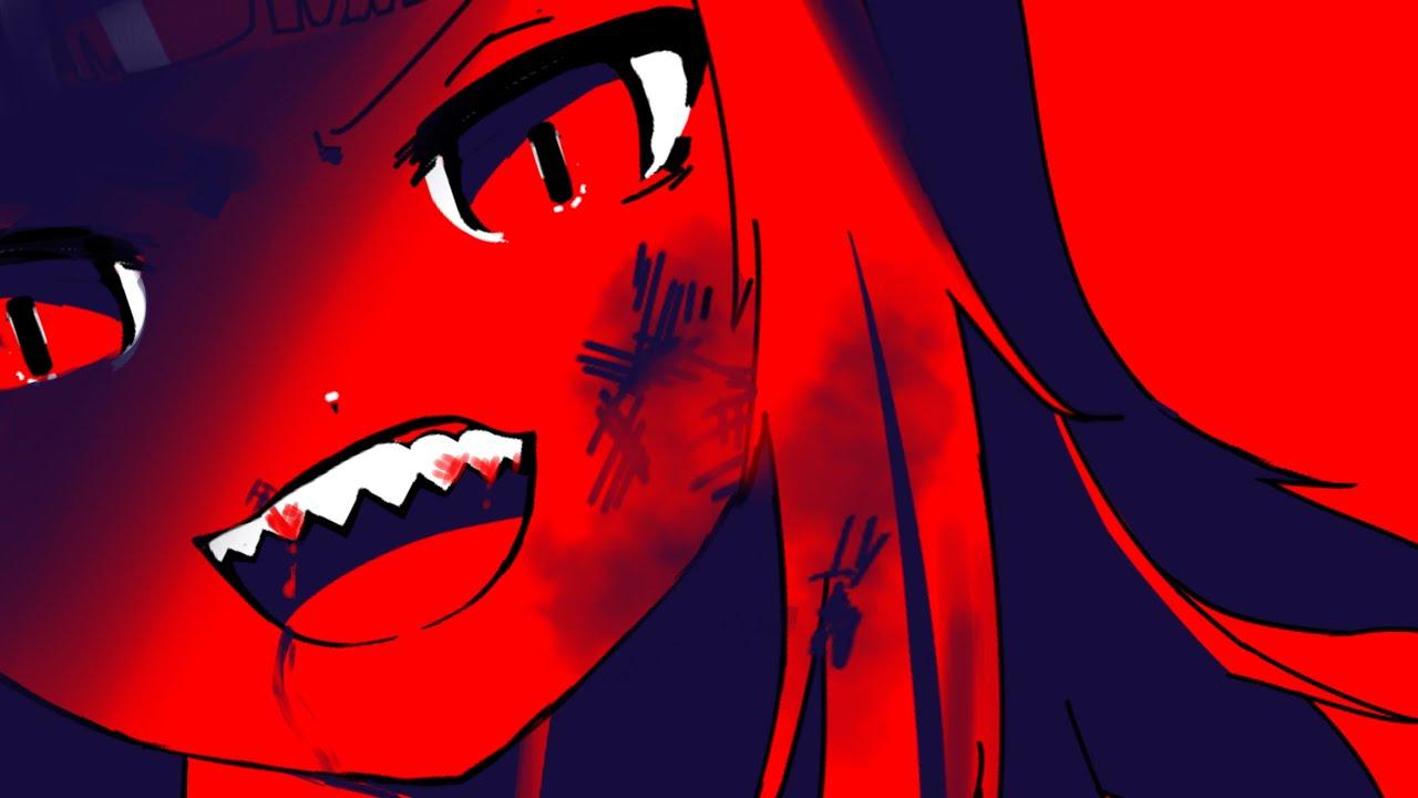 RED SHARK DANCE (Gawr Gura - Reflect) [Hololive Animation]