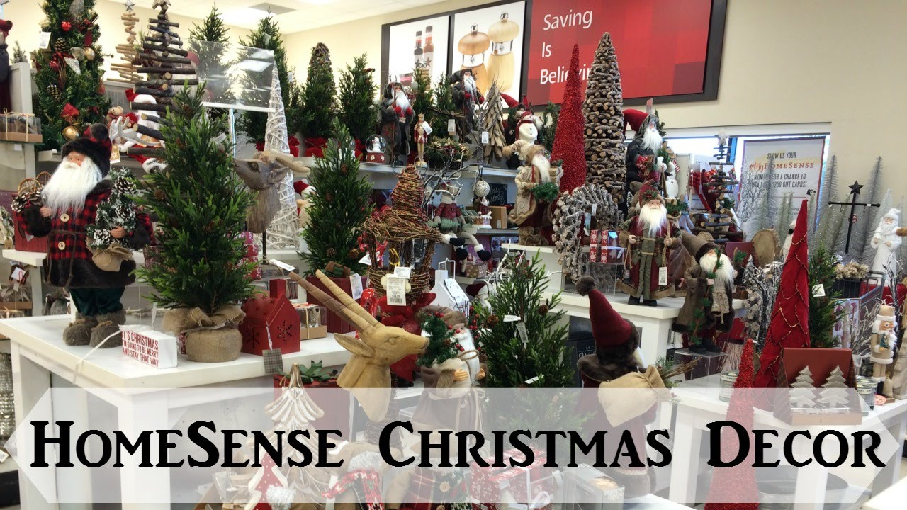 homesense christmas decor 2015 youtube