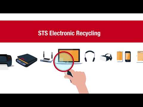 STS Electronic Recycling   Computer Liquidation and Recycling Service