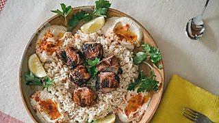 Ali's Grilled Chicken Kebab