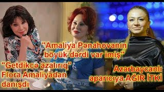 """""""Amaliya Pənahovanın böyük dərdi var imiş"""", Azərbaycanlı aparıcıya AĞIR İTKİ"""