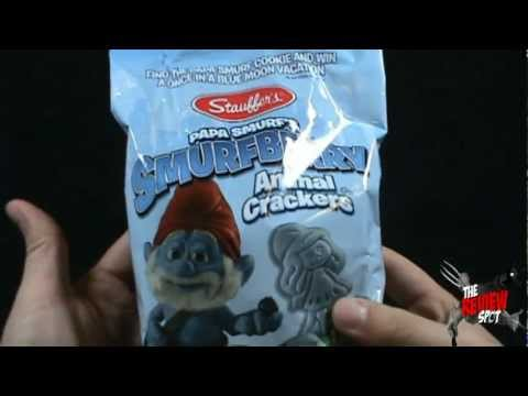 Random Spot - Stauffers Papa Smurf's Smurfberry Animal Crackers
