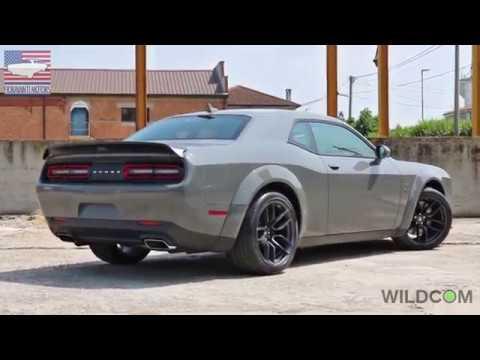 Dodge Challenger R/T Scatpack Widebody: i brevi di Fioravanti Motors