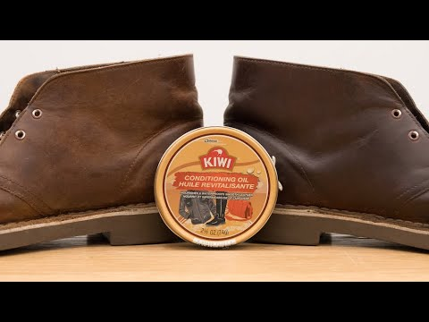 Kiwi Conditioning Oil Review: How To Use On Clarks Desert Boots