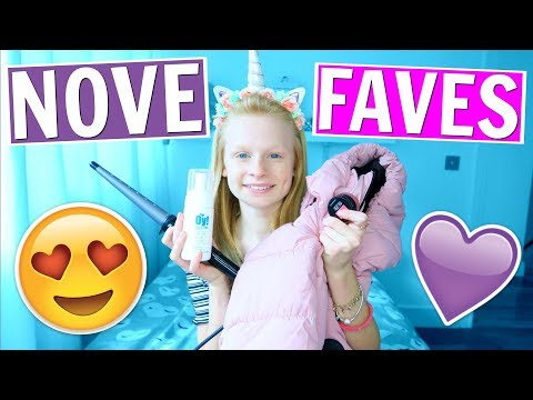 NOVEMBER FAVORITES 2017 ❤ Mia's Life ❤