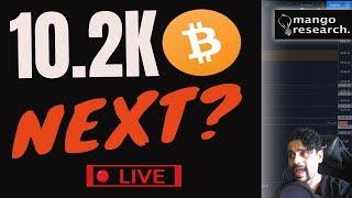 📌Is BTC About TO DIP? 10.2K NEXT? 😱  Bitcoin Prediction Today | Price Analysis & NEWS  |🏮