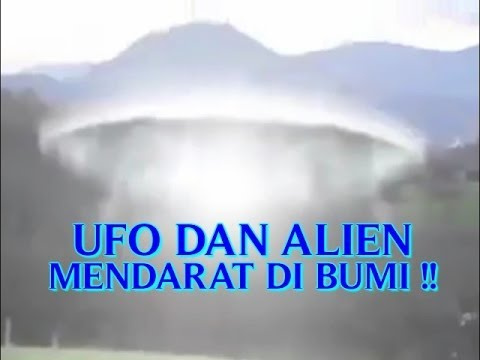 video nyata penampakan quotufo dan alien asliquot mendarat di