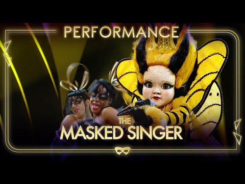 Queen Bee Performs 'Work It Out' By Beyonce | Season 1 Ep.7 | The Masked Singer UK