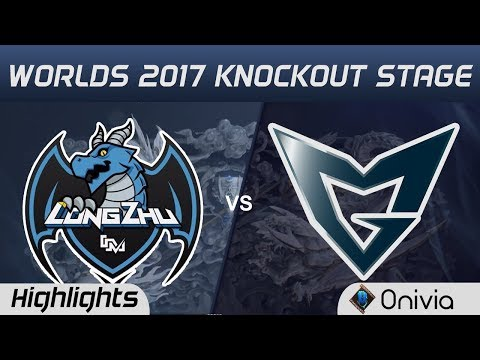 LZ vs SSG Highlights Game 1 World Championship 2017 Knockout Stage Longzhu Gaming vs Samsung Gal
