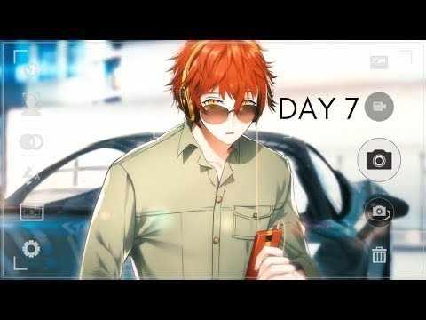Mystic Messenger - 707/ Luciel Choi (Day 7 Walkthrough)