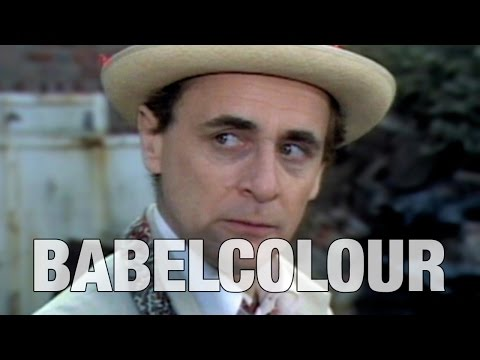 Sylvester McCoy Tribute: The Little Man  by Babelcolour