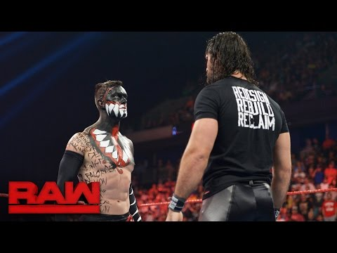 Seth Rollins comes face-to-face with The Demon King: Raw, Aug. 15, 2016