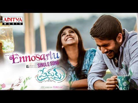 Ennosarlu Full Song || Premam Full Songs...