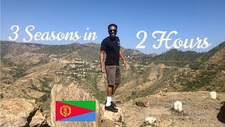 Three Seasons in Two Hours ?! This is ERITREA ( Cinema Impero ) v.2