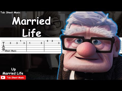 Up - Married Life Guitar Tutorial